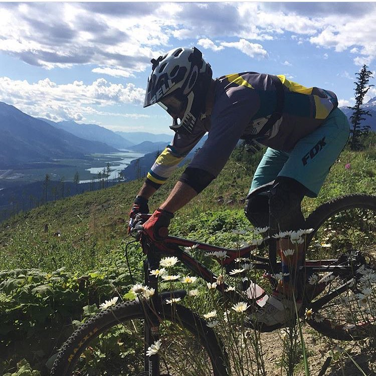@bikezbikezbikez sending sending sending in Revelstoke. #sendit #senditfoundation #backtocrushing  ps - check out the dope new mtb jerseys in the Send It store....