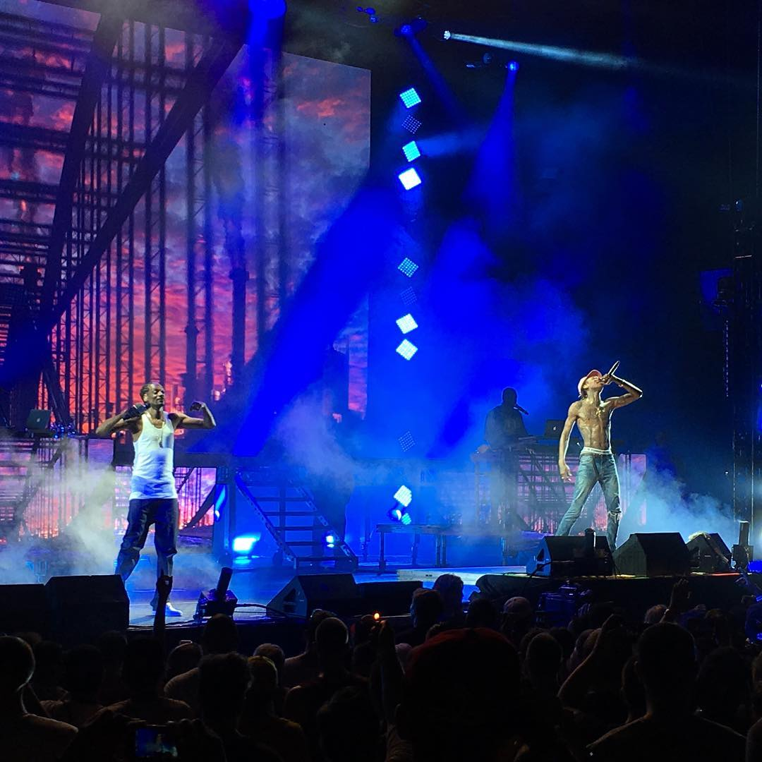 #XGames performers @SnoopDogg, @WizKhalifa and @DJBonics had Hartford all the way up this evening!