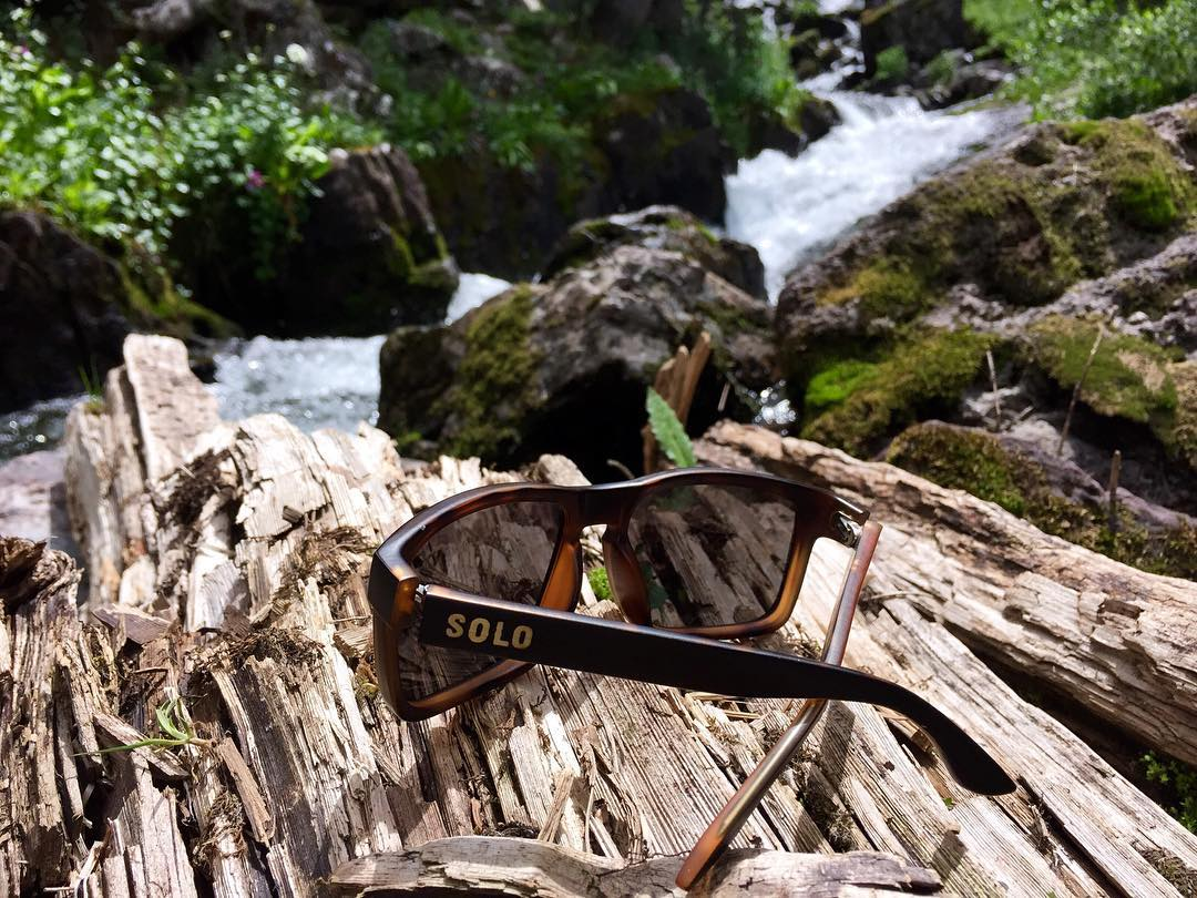 Our CEO, Jenny's, Liberia frame exploring beautiful creeks in Colorado! Shop our new collection - link in bio☝