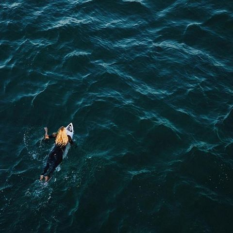 The view from above #regram @stephaniegilmore #ROXYsurf