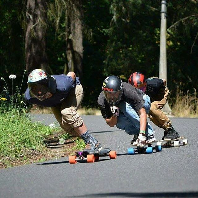 Team rider Michael Carson--@mcarsonlikescats racing at Mt. Tabor!
