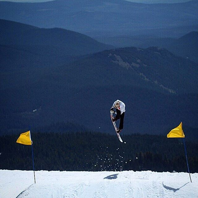 Eric Royce back one spaghetti grab at Timberline