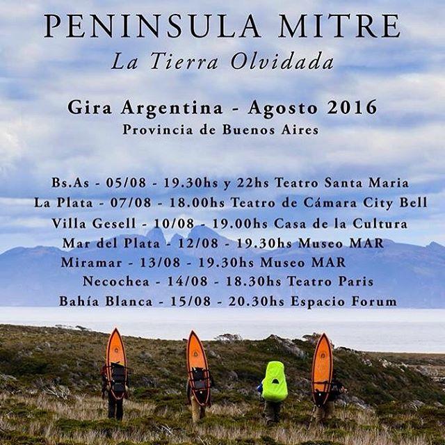 Este viernes arranca la gira de Peninsula Mitre por la provincia de Buenos Aires.  Entradas para las funciones: http://www.eventbrite.com.ar/o/gauchos-del-mar-10801890621