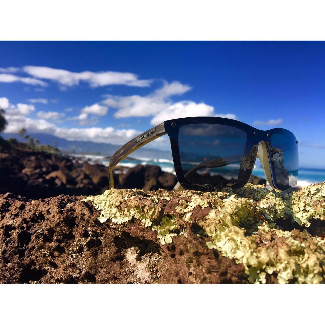 Happy Monday, Your Monday would look a whole lot better in a pair of our seaweed matte #bixbys  #whatsyourvision #bixby #hovensurf #happymonday #summertime