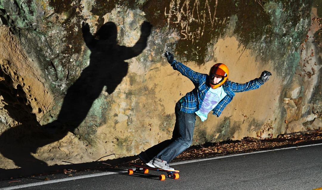#OrangatangAmbassador @danewebber casting shadows on some #Orange #Stimulus  #LoadedBoards