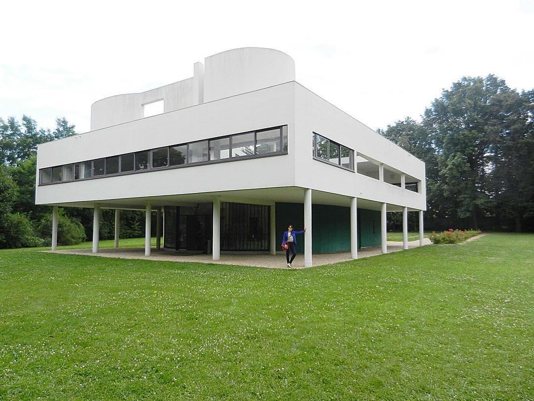 Villa Savoye #lecorbusier #villasavoye #inspiration #Pitimini #arquitectura #arquitecture ph @paolacirelli #2012 #Paris