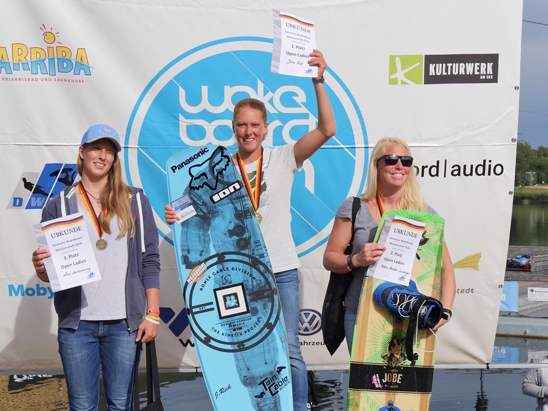 Congrats @julia_rick on becoming Germany's National Champion for the 5th time in a row! Cheers Julia