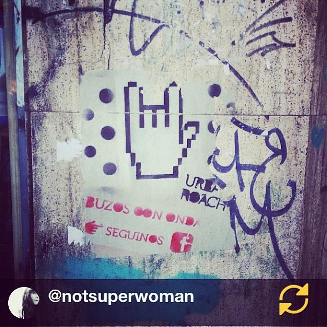 RG @notsuperwoman: @urban_roach cuanto mas tiempo pasa mas lindo queda :D #holdingon #hanginthere #regramapp