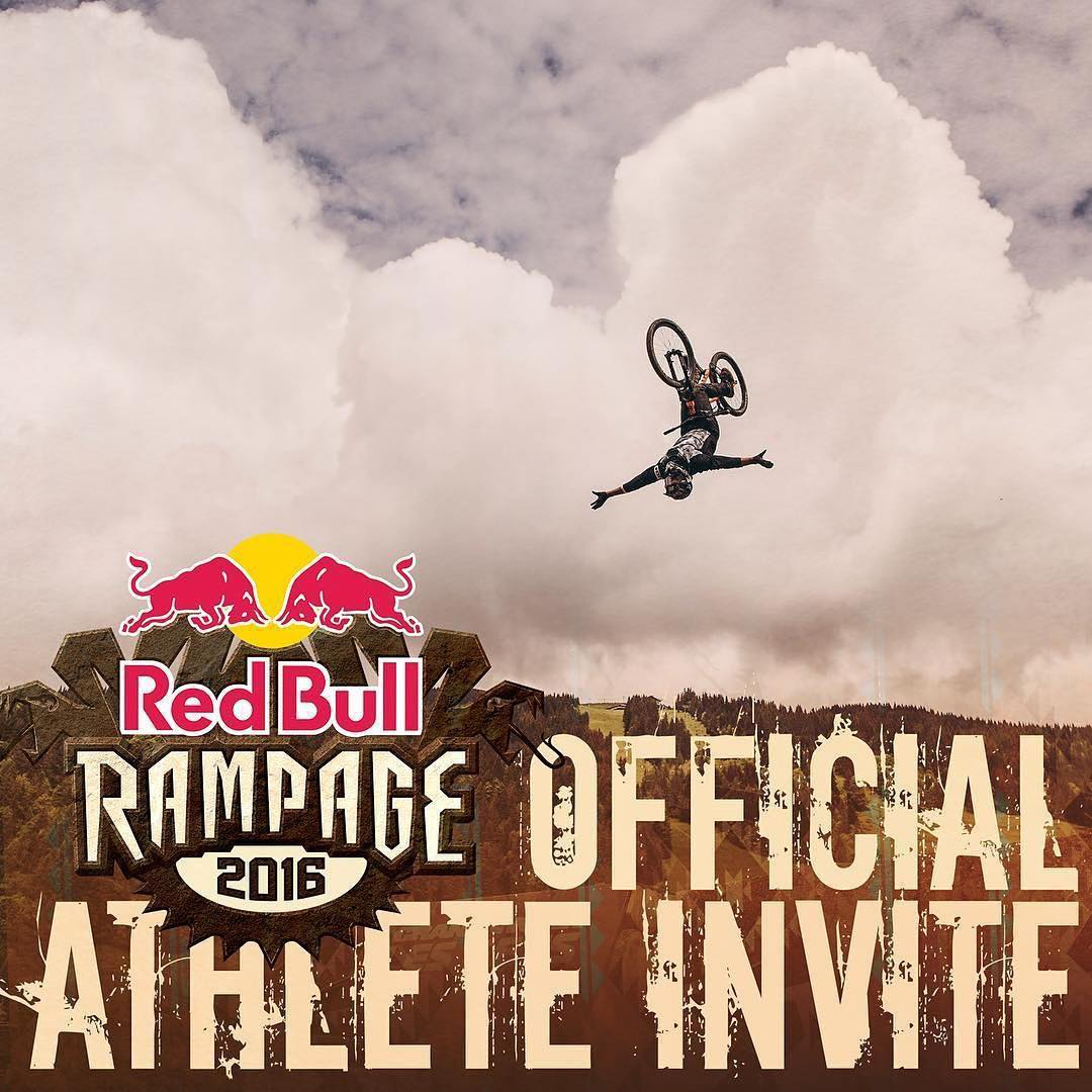 Kali rider @antoinebizet will be at @redbullrampageofficial  Can't wait for the madness on October 14 ✊