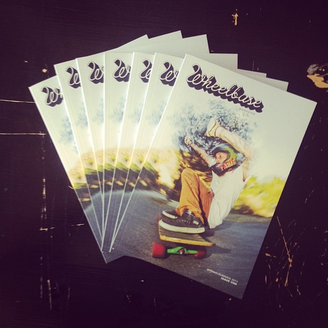 #s1 #webstore orders get a free @wheelbasemag #collectors #issue #1 #skatemag #dh #longboarding #skateboarding