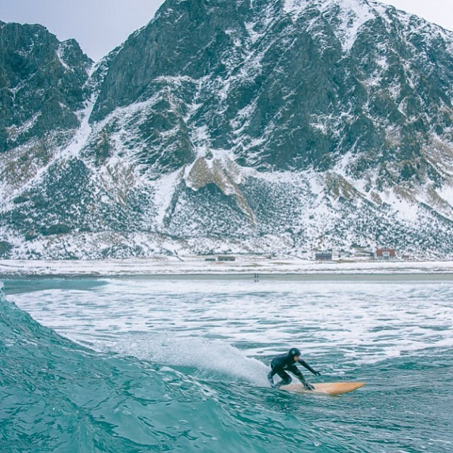 Geoprene Out In Norway @patmillin and PC : With @chrisburkard