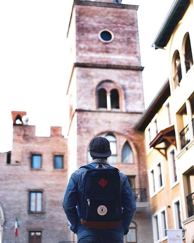Our #homero backpack goes everywhere we go