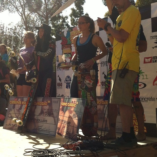 Congrats to Team rider Alicia Fillback in taking second in the #catalinaclassic yesterday. @fillbackside #calibertrucks