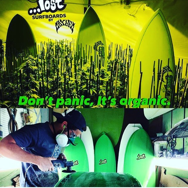 #Green with envy about the fresh #Crop of #oganical  eco-sleds from @lostsurfboards grown right here in CA , in collaboration with the green-thumb gurus over at @earthtechnologies