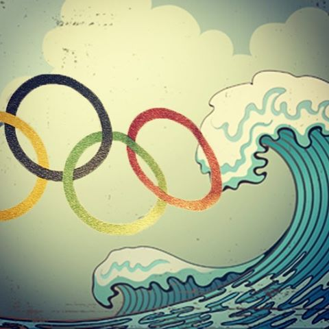 Surfing making the Olympics in Tokyo 2020!