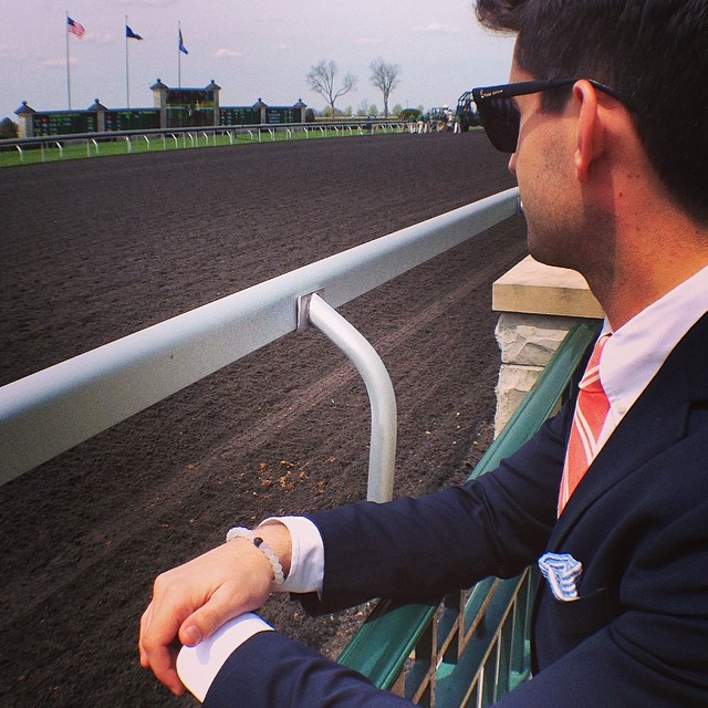 Sometimes you have to gamble a little. Enjoying the races at Keeneland on a beautiful Friday #livelokai #Keeneland