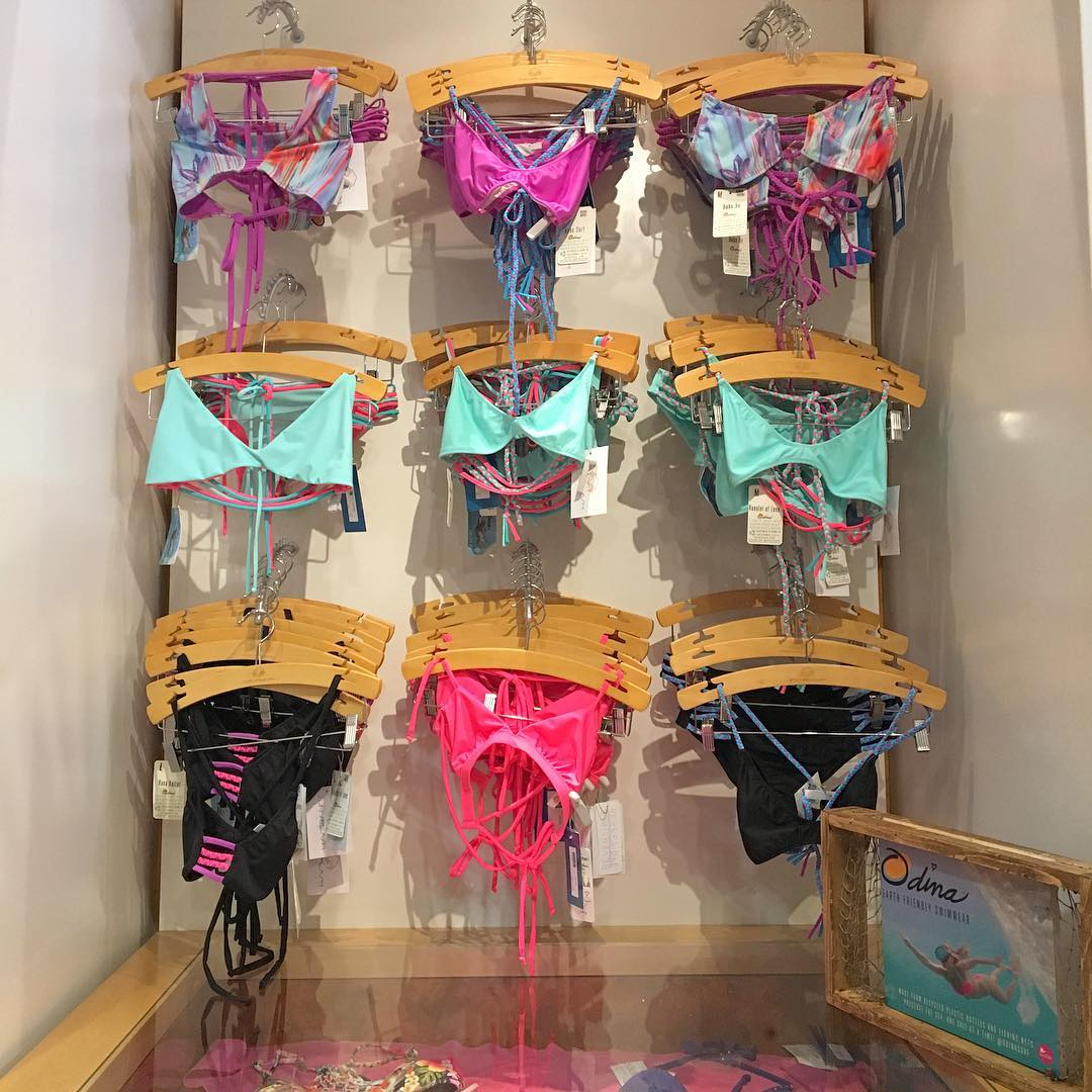 If you want the best service and cutest bikinis in Pacific Beach, San Diego get to @sunsplashswimwear !! Had so much fun today!