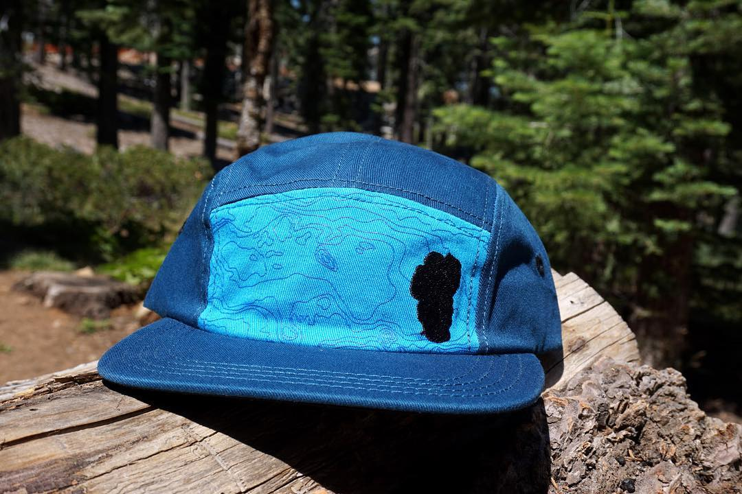 Tahoe Basin Camper Hat - now available online or in our shop. 1808 Santa Fe unit 4, South Lake Tahoe, California. ⚡️⚡️⚡️⚡️