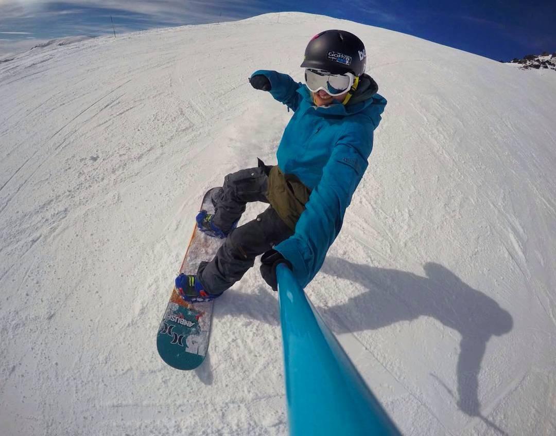 @alejanoussia en la mejor montaña de Argentina, con su #ZephyrPole!