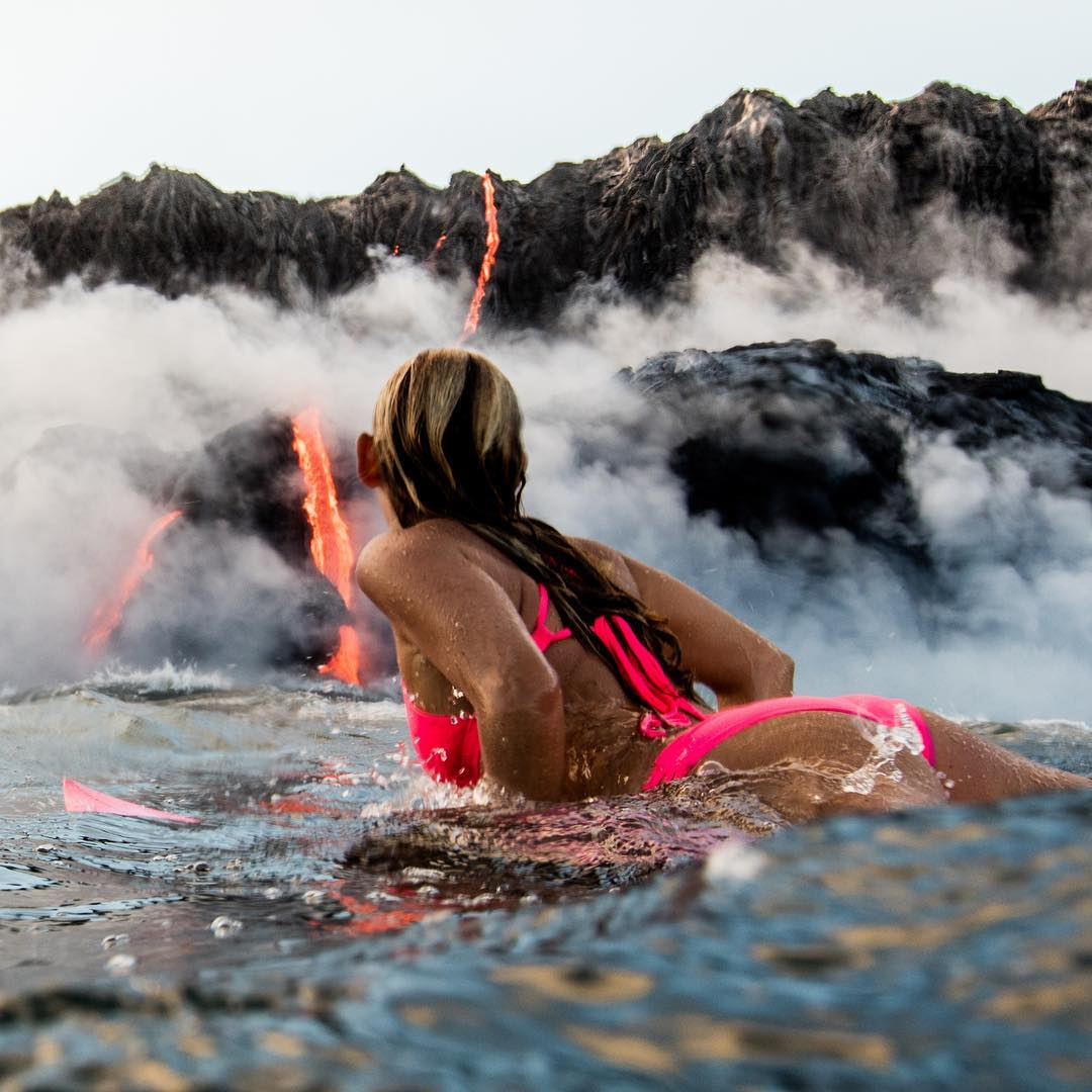 Kilauea volcano eruption is flowing into the sea. Since I was a 3 year old naked wahine dancing hula on the lava rocks in front of my home, I always felt a connection with the earth, or the Aina as Hawaiians call it. One of my biggest dreams was to...