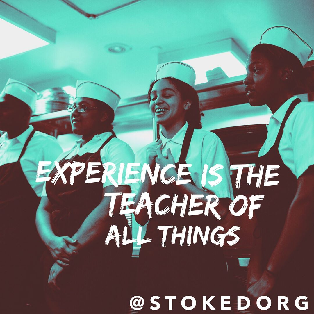 We expose kids to new opportunities and pathways they may not have thought about previously.  Experience is the teacher of all things.