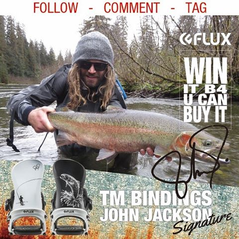 WIN IT BEFORE YOU CAN BUY IT! Flux Bindings is giving away this set of 2016/17 John Jackson TEAM @johnjamun Bindings before you can buy them! To Enter: Go to @fluxbindings and FOLLOW their gram feed, make a COMMENT on their WIN FLUX post and TAG three...