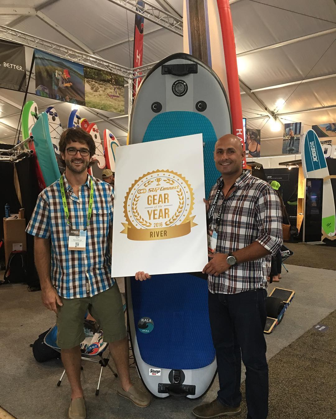 Stoked to win Supconnect Gear of the Year for the Hala Atcha!! Thanks everyone for voting!