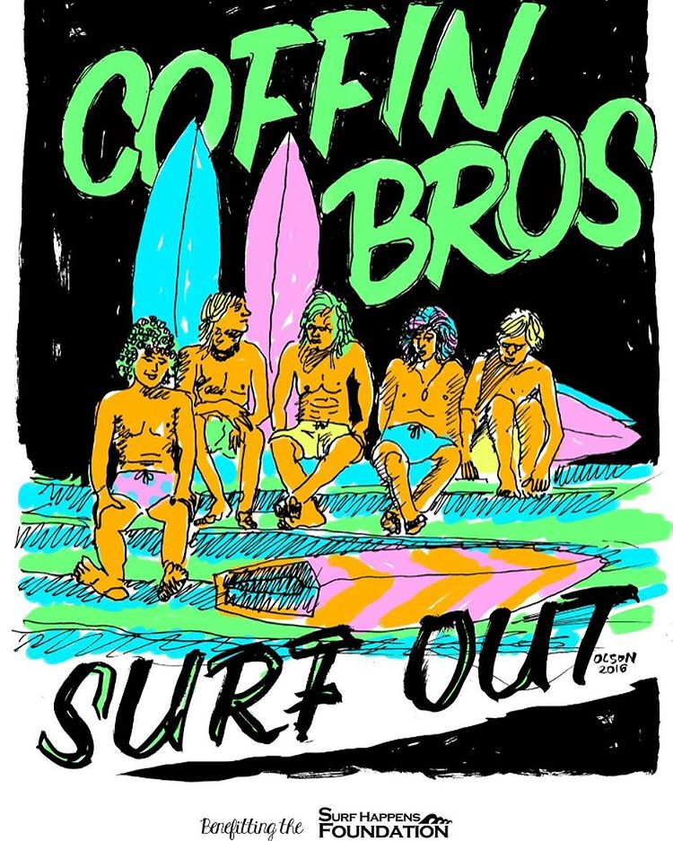 The 2nd annual #CoffinBrothersSurfOut is tomorrow in Ventura Harbor! Join @connercoffin and @surfhappens to support the @surfhappensfoundation, an organization dedicated to enriching the lives of local youth through ocean education and surfing. More...