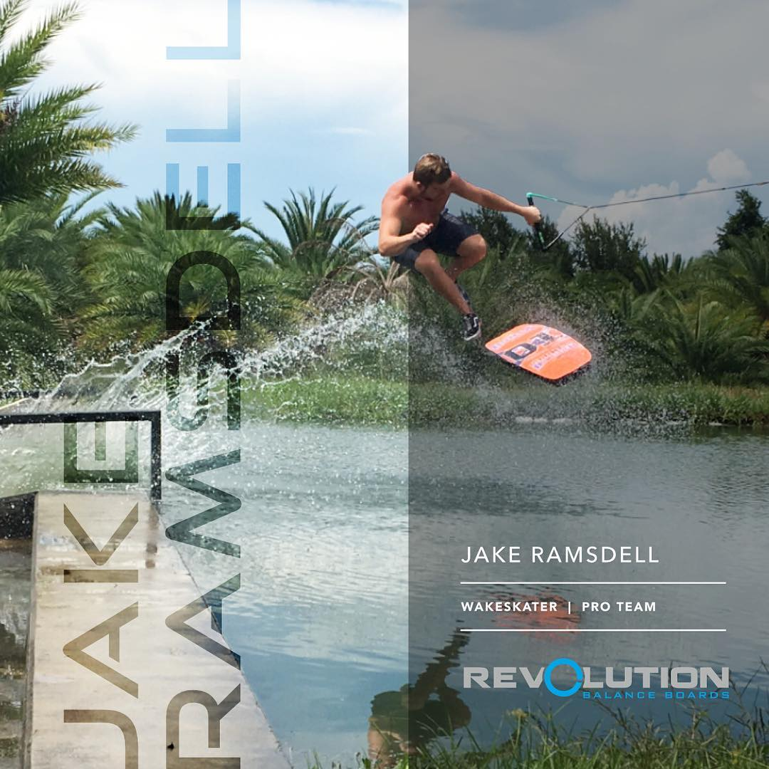 Welcome to the Revolution Pro Team Jake Ramsdell aka @jake_from_.state._farm !! . Jake has been shredding on a wakeskate for many years now, and is progressing the sport to new levels in 2016. . Stay tuned for much more from him, and follow his journey...