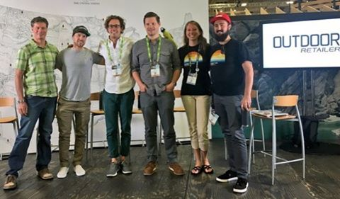 Thanks to all who came out to our happy hour + panel discussion last night! It's great to hear from member companies about redefining their success through creating impact and profit. @OutdoorRetailer w/ @1PercentFTP @peakdesignltd @sunski #ORshow...