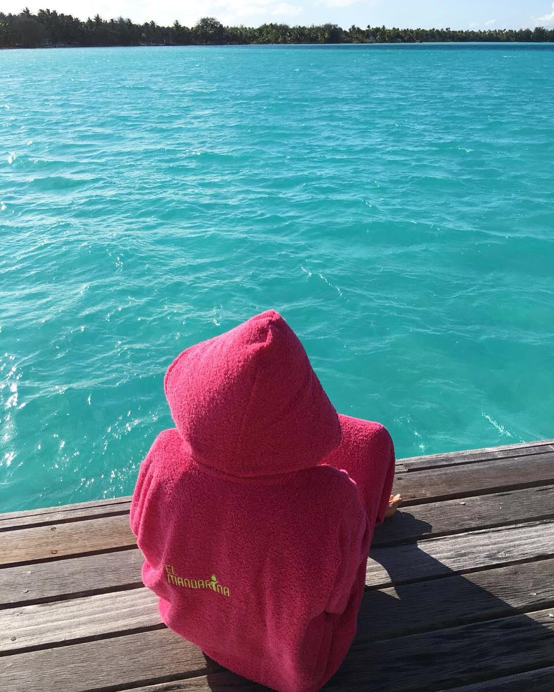 Desde La Polinesia palpitamos el verano ✌