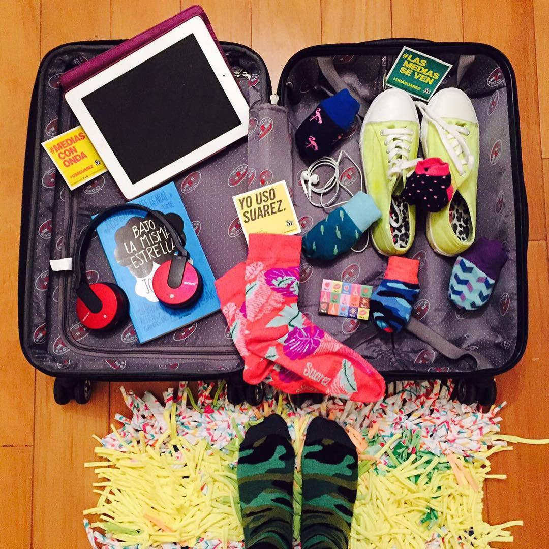 #Viernes de #viaje preparando la valija con los #infaltables