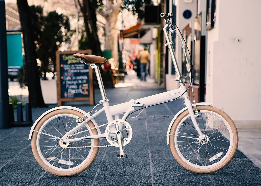 Hi Im the New Ninette White!!! #ilovemymonochrome #monochromebikes