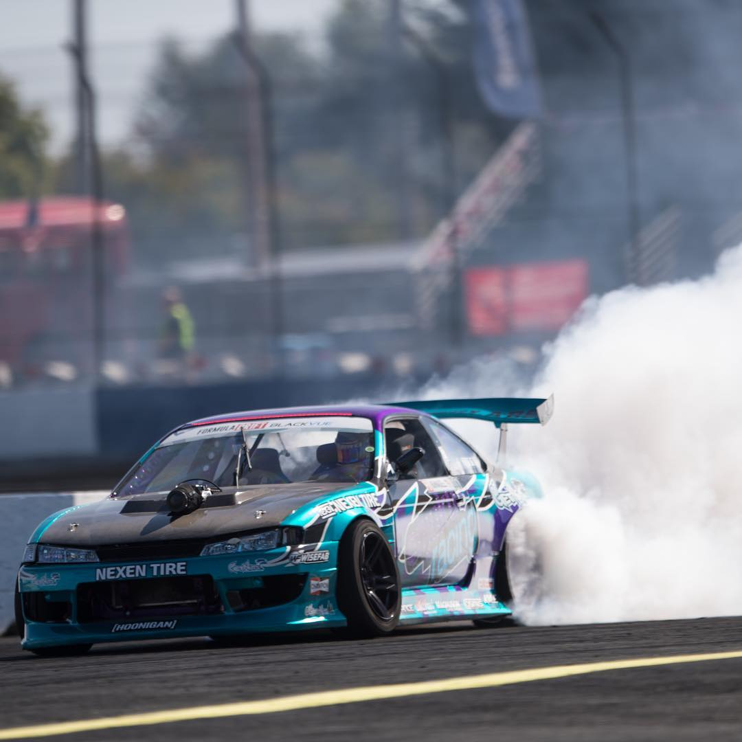 @formulad Seattle is underway! Our dude @alechohnadell looking fierce in practice yesterday. #killalltires #formulad