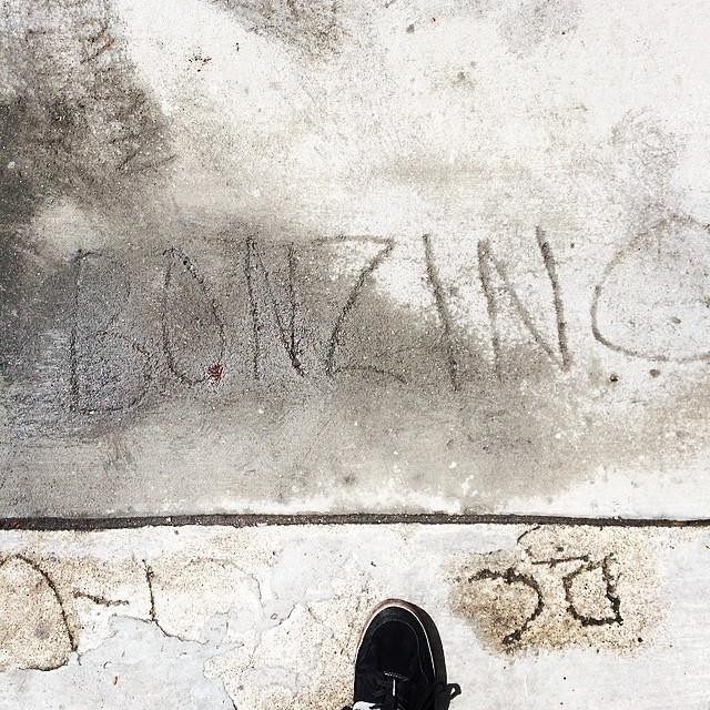 Found this in the sidewalk!  Bonz or die!! #bonzing #sanfrancisco