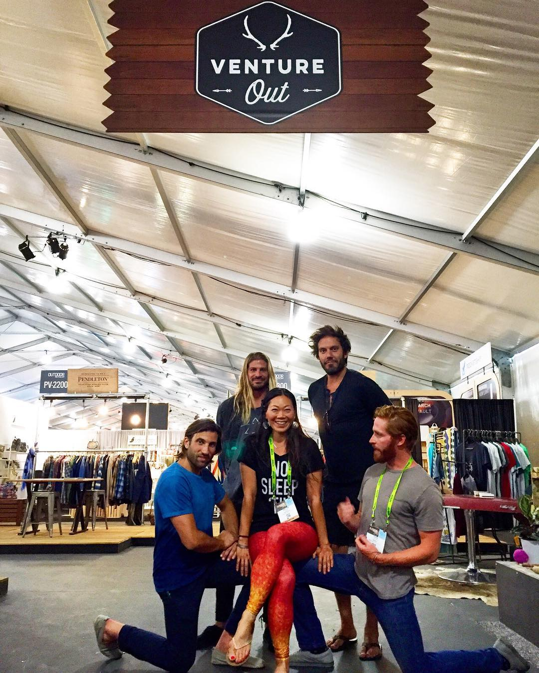 VENTURE OUT Day 2 at outdoor retailer. @alistkung workin' it with the @Indosole and @Bureo Skateboard crew at Venture Out @outdoorretailer - a curated selection of brands at the forefront of the modern outdoor experience, to attract new, younger and...