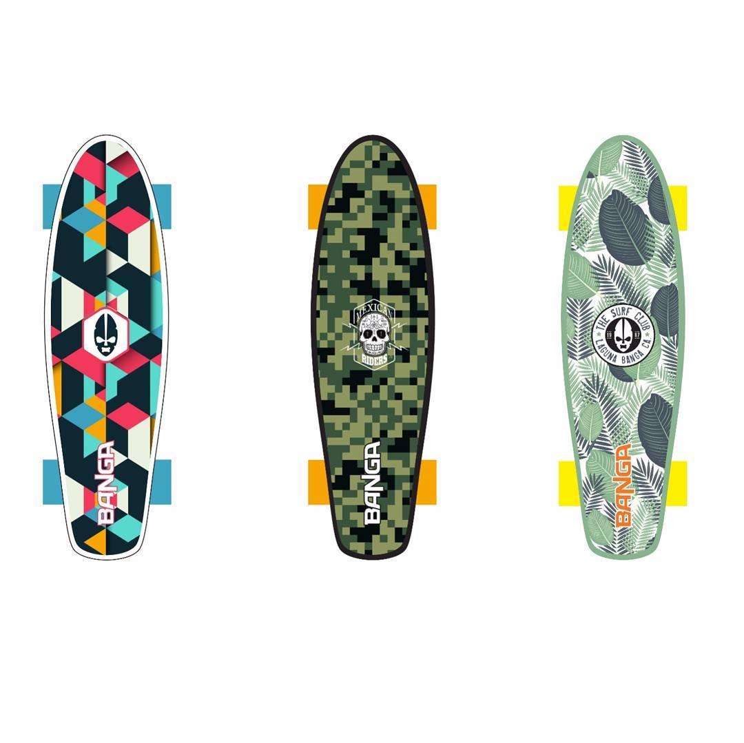 "Nuevos mini cruiser 24"" BANGA 2017!!. . . . #skate #skategirl #skating #longboard #longboardgirl #bodyboard #surf #surfgirl #surfing #urban #street #streetstyle #vintage #retro #argentina #brasil #chile #peru #venezuela #rad #brothers #hermanos #trip..."