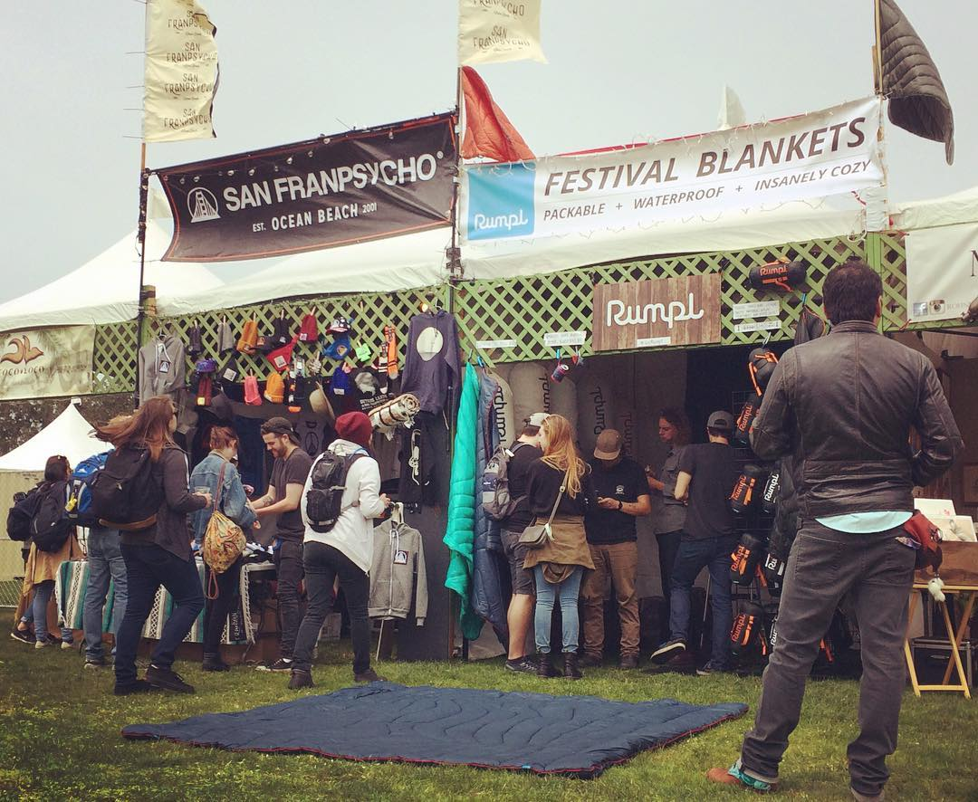 If you happen to be at @outsidelands music festival in #sanfrancisco this weekend, come say whattup to us and these psychos!