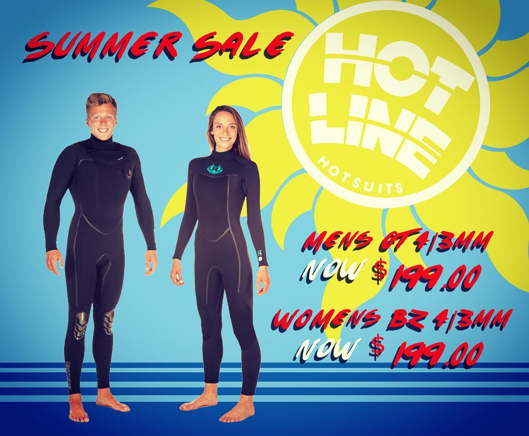 Summer Sale!!! Men's GT 4/3mm Regular Price: $249.95 Sale Price $199.00  Women's BZ 4/3mm Regular Price: $234.95 Sale Price $199.00  #surflife #summer #sale