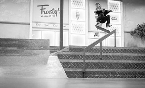 @taylormcclung switch frontside flip photo by the one and only @yoonicorn213 from his Bangin' a few weeks ago! @berrics