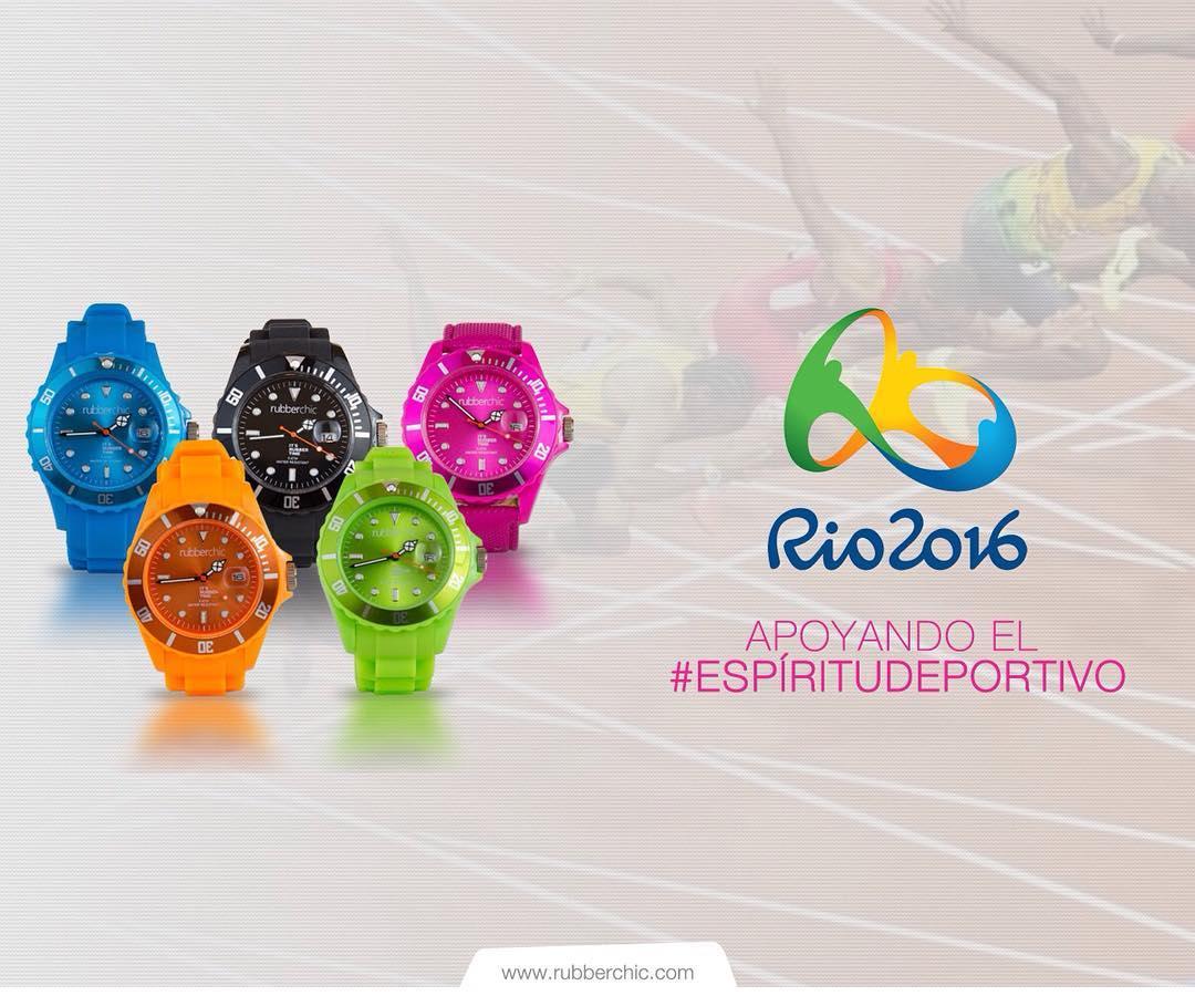 ¡Agosto se viste de Color! Juegos Olimpicos Rio 2016 -  Apoyando el #EspirituDeportivo