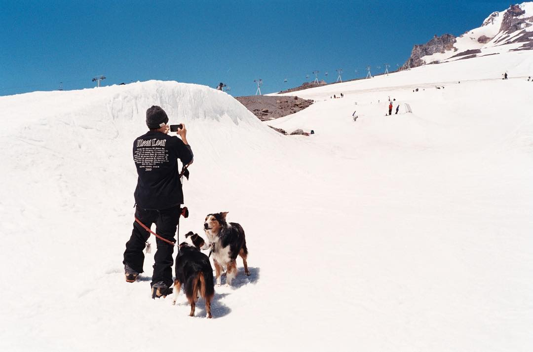 If you didn't see the magic @sleepystevens was capturing during #campita6, head over to @snowboardermag and get informed! #coalheadwear #35mm #aussie