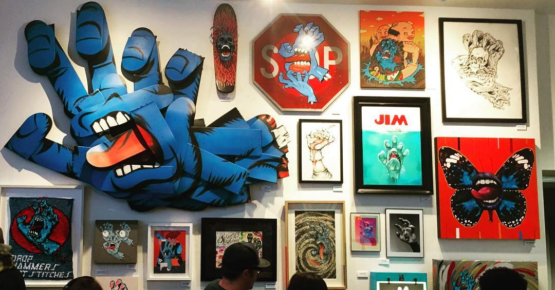 Free First Friday: Screaming Hand Exhibition Opening #SantaCruz #screaminghand #firstfriday