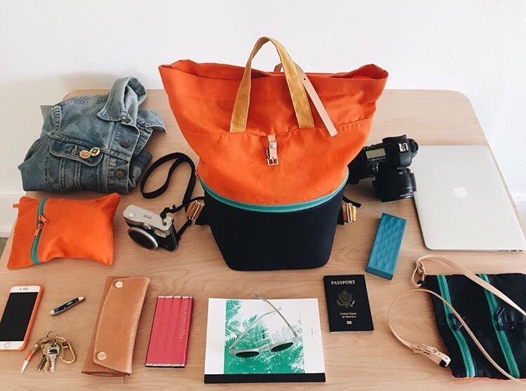 #Saturday travel essentials courtesy of @ernathan | Notbook No.3 is looking ready to take it all in.