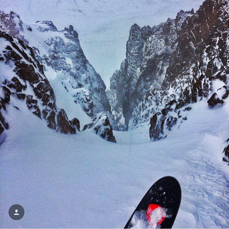 It's always winter somewhere. @youngdorian has been getting after it this week in South America! #avalon7 #liveactivated #skiing www.wearealladventurers.com