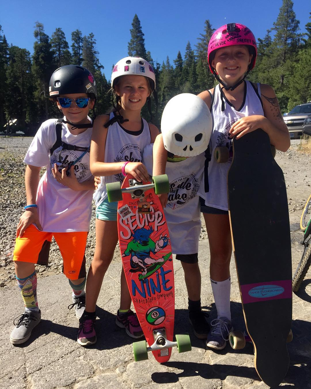 Skate the Lake 2016 is underway & this crew of little rippers is absolutely crushing the 28 mile course! We're 75% of the way to our $20,000 fundraising goal but you can still donate at Classy.org/skatethelake2016!