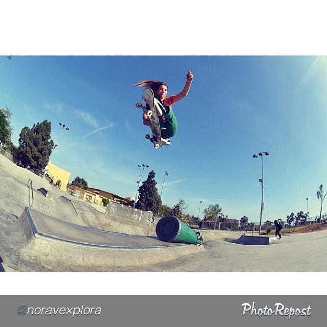 Nora. Is. Rad. @noravexplora #skate #skateboarding #skate #skatelife #skatepark #skatergirl #eastcoastpride