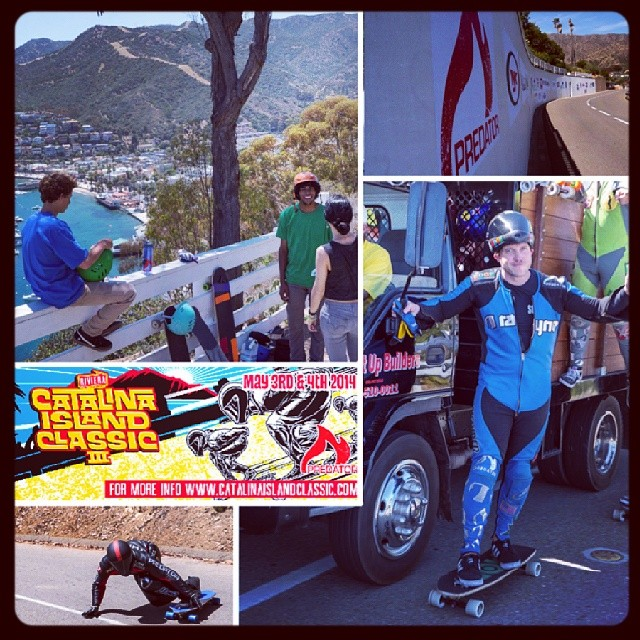 The 2014 Catalina Island Classic is officially a wrap. We were stoked to be part of such a rad event, see you on the hill next year!  @catalinaislandclassic #cic2014 #predatorhelmets #catalina  @kylewesterskate @zenshikaze @chance_lbdr @cocomari...