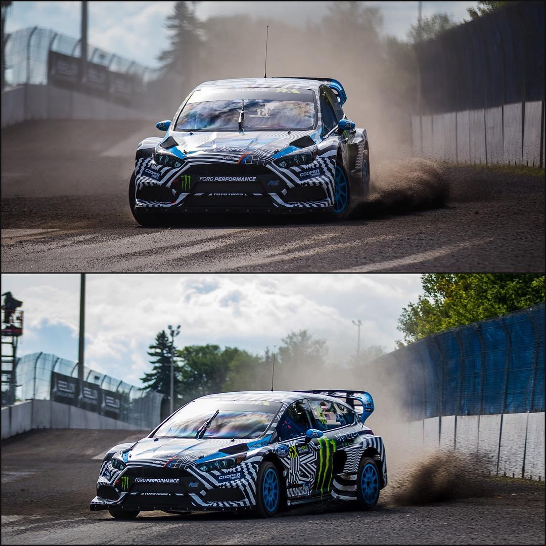 HHIC @kblock43 warming up at #CanadaRX, qualifying in fifth position.