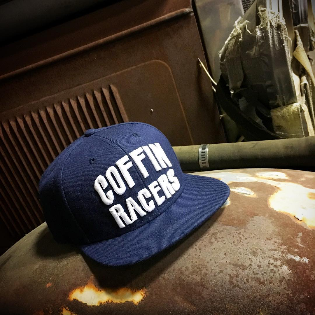 The Coffin Racers snapback hat - available at #hooniganDOTcom